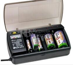 Cargador descargador universal para baterias de NI-CD y NI-MH