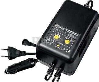 Cargador descargador para Packs de baterias de NI-CD y NI-MH de 2.4V a 12 Voltios