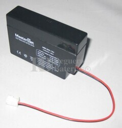 Bateria para Alarma de 12 Voltios 800 Miliamperios