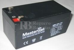 Batería para Alarma de 12 Voltios 3.3 Amperios U-POWER NP3.3-12