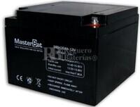 Batería para Alarma de 12 Voltios 26 Amperios NPH26-12