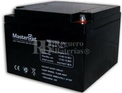 Bateria para Alarma de 12 Voltios 26 Amperios