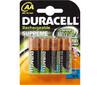 Bateria recargable Duracell AA 1.2 Voltios 2.450mAh (Blister 4U)
