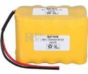Batería para Electromedicina 18 Voltios 1.000 mAh AA NI-CD 49,0x70,0x42,0mm