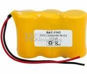 Bateria para Electromedicina 3.6 Voltios 2.000 mAh AA NI-CD 67,20x43,5x22,5mm