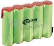 Bateria para Electromedicina 6 Voltios 2.300 mAh  NI-MH 70,0x49,0x14,0mm
