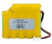 Packs de baterias recargables 7.2 Voltios 2.500 mAh AA NI-MH 72,5x65,0x14,5mm