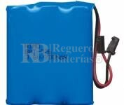 Packs de baterias recargables 3.6 Voltios 940 mAh AA NI-CD 42,0x49,0x14,0mm