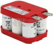Packs de baterias recargables SAFT VTF 6 Voltios 1.500 mAh NI-CD 70,0x45,0x46,0mm