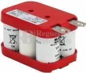 Batería para Electromedicina 6 Voltios 1.500 mAh SAFT 70,0x45,0x46,0mm