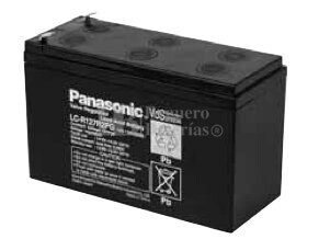Bateria para SAI Panasonic 12 Voltios 7.2 Ah LC-RA127R2PG-1