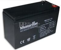 Bateria de Plomo 12 Voltios 7.5 Amperios 151x65x94mm Master Battery