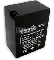 Bateria de Plomo 6 Voltios 16 Amperios 108X70X140mm