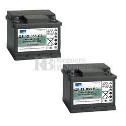 Baterías Movilidad 12V 38A Gel Dryfit GF12033Y1
