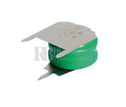 Pack Batería Recargable 2,4 Voltios 15 Mah NI-MH
