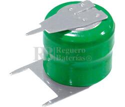 Pack Batería Recargable 2,4 Voltios 40 Mah NI-MH