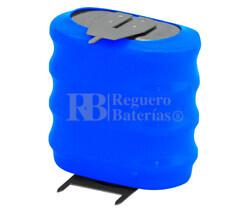 Pack Batería Recargable 4,8 Voltios 140 Mah C.I NI-CD