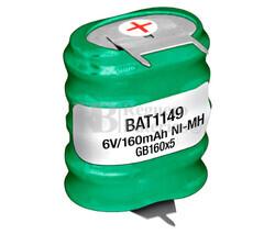 Pack Batería Recargable 6 Voltios 150 Mah C,I NI-MH
