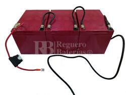 Kit 36 Voltios 15 Amperios  EVH12150 para Vehículos Eléctricos con Conexiones
