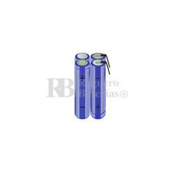 Packs de baterías AA 4.8 Voltios 2.000 mAh NI-MH RB90033712