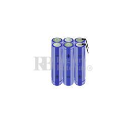 Packs de baterías AA 7.2 Voltios 2.000 mAh NI-MH RB90033713