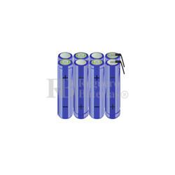 Packs de baterías AA 9.6 Voltios 2.000 mAh NI-MH RB90033714