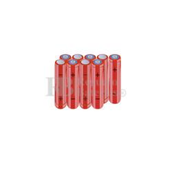 Packs de baterías AAA 10.8 Voltios 800 mAh NI-MH RB90033890