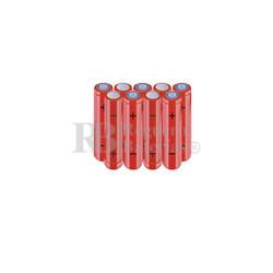 Packs de baterías AAA 10.8 Voltios 800 mAh NI-MH RB90033894