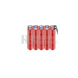 Packs de baterías AAA 12 Voltios 800 mAh NI-MH RB90033745