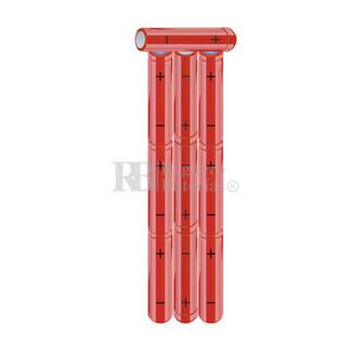Packs de baterías AAA 12 Voltios 800 mAh NI-MH RB90033851
