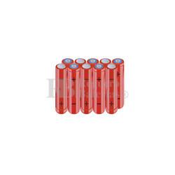 Packs de baterías AAA 12 Voltios 800 mAh NI-MH RB90033869