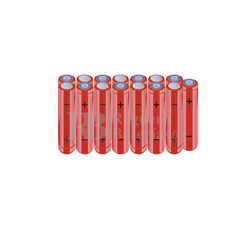 Packs de baterías AAA 18 Voltios 800 mAh NI-MH RB90033871