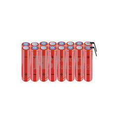 Packs de baterías AAA 19.2 Voltios 800 mAh NI-MH RB90033754