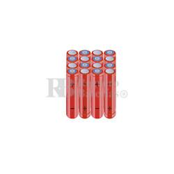 Packs de baterías AAA 19.2 Voltios 800 mAh NI-MH RB90033904