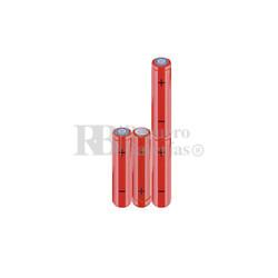 Packs de baterías AAA 4.8 Voltios 800 mAh NI-MH RB90033815