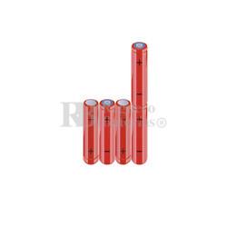 Packs de baterías AAA 6 Voltios 800 mAh NI-MH RB90033804