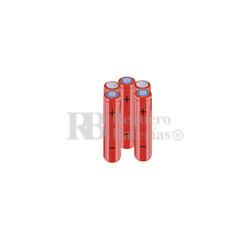 Packs de baterías AAA 6 Voltios 800 mAh NI-MH RB90033809