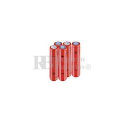 Packs de baterías AAA 6 Voltios 800 mAh NI-MH RB90033867
