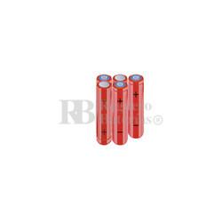 Packs de baterías AAA 6 Voltios 800 mAh NI-MH RB90033868