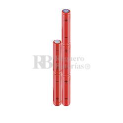 Packs de baterías AAA 6 Voltios 800 mAh NI-MH RB90033923