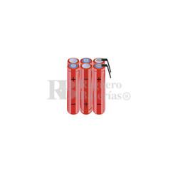 Packs de baterías AAA 7.2 Voltios 800 mAh NI-MH RB90033750