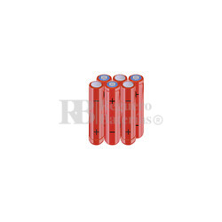 Packs de baterías AAA 7.2 Voltios 800 mAh NI-MH RB90033883