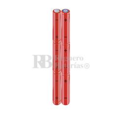 Packs de baterías AAA 7.2 Voltios 800 mAh NI-MH RB90033930