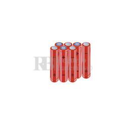 Packs de baterías AAA 8.4 Voltios 800 mAh NI-MH RB90033884