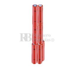 Packs de baterías AAA 9.6 Voltios 800 mAh NI-MH RB90033832