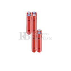 Packs de baterías AAA 9.6 Voltios 800 mAh NI-MH RB90033833