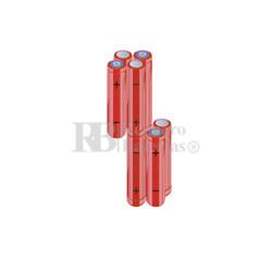 Packs de baterías AAA 9.6 Voltios 800 mAh NI-MH RB90033834