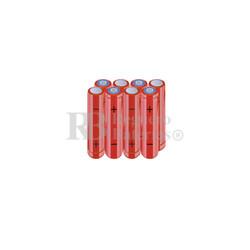 Packs de baterías AAA 9.6 Voltios 800 mAh NI-MH RB90033889