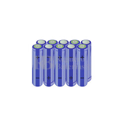 Packs de baterías AA 12 Voltios 2.000 mAh NI-MH RB90033361