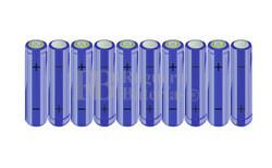 Packs de baterías AA 12 Voltios 2.000 mAh NI-MH RB90033371